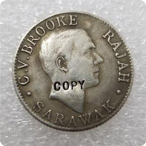 1906,1910,1911,1913,1915,1920 Sarawak 20 centavos COPY moedas CÓPIA moedas comemorativas-réplica moedas de medalha para coleccionar