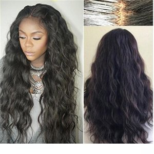 L Brazilian Wet And Wavy Full Lace Wigss Virgin Hair Long Wet Wavy Cheap Glueless Full Lace Front Human Hair Wigs Pre Plucked