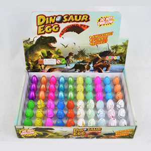 Ovo de páscoa Magia Ovos de Dinossauros de Incubação Adicionar Água Crescer Dino Ovos Criança Brinquedo Educativo Páscoa Interessante Presente 60 pçs / set DH1303