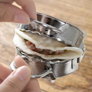 Freies verschiffen automatische edelstahl knödel maker hause knödel form küche gadget kneten knödel machen werkzeuge