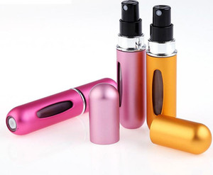 5ml Mini Refillable Perfume Atomizer Spray Bottle Easy to Fill Scent Pump Case for Travel Outgoing