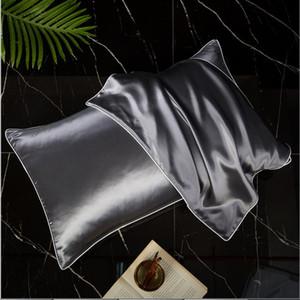 Natural fronha de seda para o cabelo e pele 19 Momme 600 fios 100 por cento Hipoalergênico Mulberry Silk Pillow Legenda: