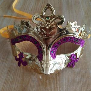 Venedikli Mardi Gras Parti Dans Masquerade Ball Cadılar Bayramı Maskesi Fantezi Elbise Kostüm Seksi Erkekler Kadınlar Kostüm Balo VT1150 Maske
