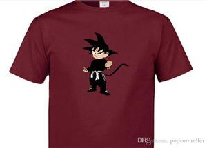 Coppie Dragon Ball Summer Fashion Designer magliette di colore Estate girocollo adolescenti Tshirt Cool Fashion Casual coppia Top