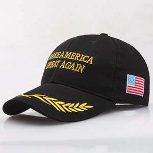 Embroidery Trump Support Baseball Cap Make America Great Again Snapback Cap Donald Trump Hat Adjustable Sports Ball Caps Gift VT0434