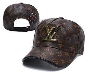 2019 Designer Mens Berretti da baseball Marca Tiger Head Hats Gold Ricamato osso Uomini Donne Casquette Sun Hat gorras Sport Cap Drop Shipping