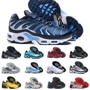2020 Nike Air Max Tn Shoes New Airmax Tn Plus course respirant MESH Noir Blanc Bleu Ultra Triple Hommes Tns Réquin Air Entraîneur Randonnée Sports Chaussures