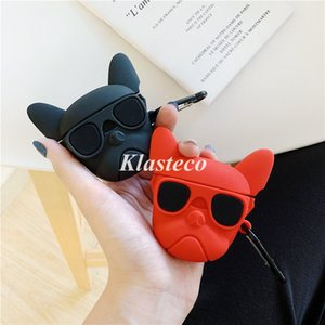 Bulldog Design for Apple Airpod Pro Case Many Cartoon Silicone Protector For Air Pods Cover Anti-Drop Earpods Case for Airpods Pro 2 1