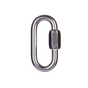 Aço inoxidável Professional bloqueio retrátil fio espiral de Segurança Escalar Escalar Acessório fivela New