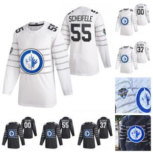 Winnipeg Jets 2020 All-Star Game Jersey Mark Scheifele Connor Hellebuyck Blake Wheeler Patrik Laine Kyle Connor Josh Morrissey