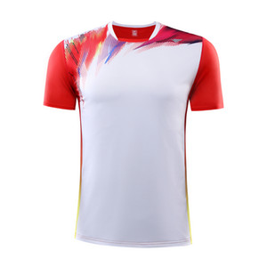 New Men Soccer Jerseys T-shirt Sportswear Running Quick Dry Sports T Shirt Adult Customized Football Short Sleeve P o l o Shirts