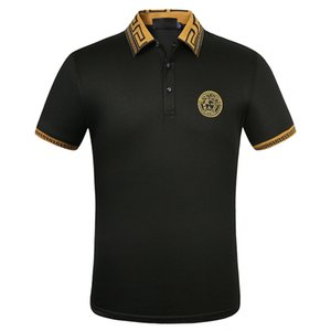 FF progettista del mens magliette Men Polo felpe stilista polo maglioni della camicia degli uomini del progettista magliette camicie estive da uomo