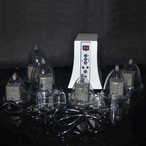 Pompe électrique mammaire vide ventouse Therapy Massager machine chauffe infrarouge Vibrator COFFRE Stimulateur élargissement Enhancer
