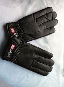 Winter ski gloves windproof waterproof plus velvet thickening hiking riding men and women models cold and warm