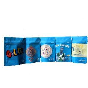 쿠키 캘리포니아 SF 8 3.5G 마일 라 Childproof 가방 (420) 포장 Gelatti 시리얼 우유 게리 페이튼 쿠키 가방 크기 3.5G 무료 배