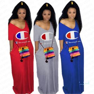 Kadınlar Şampiyonu Marka Elbiseler Uzunluk Etek Straplez Elbise Uzun Elbise Moda Parti Dresss Moda Kadın Seksi Elbise Giyim S-XXL E32608