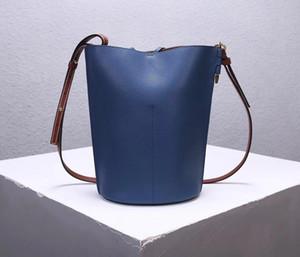 Designer-Lady personalizadas saco balde quente high-end de luxo designer corpo cruz saco de moda estilo casual alça de ombro ajustável em couro