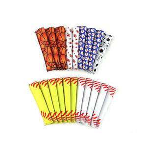 Popsicle Set Popsicle titolari Hockey Baseball Stick Pop manicotti di ghiaccio Congelatore Holders Pop Summer Kitchen Tools colorato Popsicle Set EEA1559