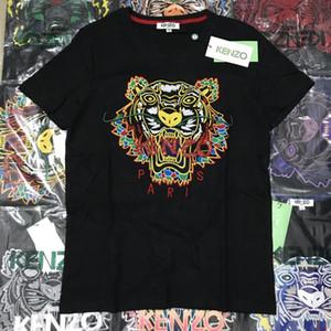 2020 Herren Designer-T-Shirts Marke T-Shirts Männer Frauen atmungsaktive Shorts kurzen Hülsen-Tiger Hemd Luxuxstickerei-Tiger-T-Shirts GG 20032404T