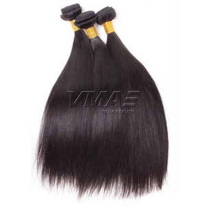 Natural Color Straight Peruvian Hair 100g pc 3pcs lot Unprocessed Virgin Human Hair Top Quality Silky Straight VMAE HAIR opp bag