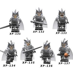 Thrones eylemin Tek Satış oyunu Gondor Mızrak Kılıç Yapı Taşları Bricks Oyuncak ait teknik Şövalye Asker Şekil
