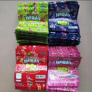 Квадратные полудурков Rope ющий медикаментозный Укусы конфеты Упаковка мешок полудурков Rope конфеты Nerdsrope sGummy сумки Три края запечатывания мешок фольги Упаковка для продуктов