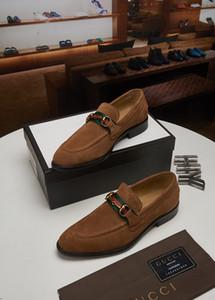 18ss Designers Mens schuhe aus echtem leder wohnungen business formale schuhe herren party kleid brogues oxfords derby schuhe zapatos hombre