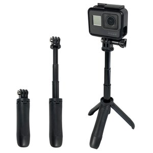 Handheld Mini Tripod Mount Selfie Stick Extendable Monopod for Gopro Hero 7 6 5 4 3+ SJCAM Xiaomi YI 4k EKEN H9 Sony Sport Camera
