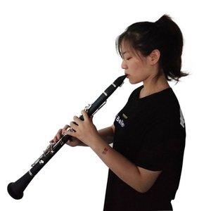 17 Anahtar Klarnet Müzik Aletleri Üflemeli Enstrümanlar Klarnet Si bemol 17 Tuşlar Pratik Dayanıklı Klarnet Nefesli Enstrümanları