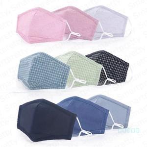 Bambini maschere di cotone PM2. 5 Anti Polvere foschia bocca copre maschera 5 strati di protezione antipolvere viso maschera con un filtro per le ragazze dei ragazzi E4905