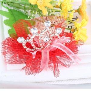 Clips M MISM Kawaii Accesorios de pelo para niñas de pelo cristalina niños Tiara tocado corona Hairgrips velo Haarspeldjes Voor Niñas