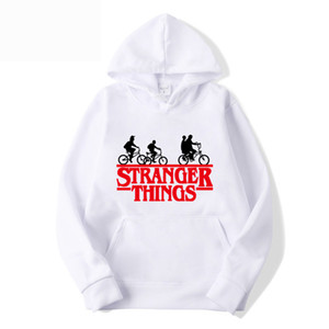Mode Hommes Chemises Hommes Vetement Streetwear Casual Hoodies Pull avec Stranger Thing style d'impression Casual Taille S-3XL Wholesales