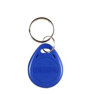 RFID نسخ سلسلة المفاتيح وصول المفاتيح 500 كيلو هرتز مصنع بالجملة معرف rfid