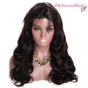 Density 180% Brazilian Human Hair Frontal Lace Wigs 100 Remy Virgin Hair Swiss Lace frontal wig with Pre-Plucked Hairline Natural Looking