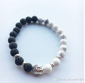 Natural Lava Stone Beads Charms beadle Bracelets Anti-fatigue Volcanic Rock Men's Women's Fashion Diffuser Jewelry