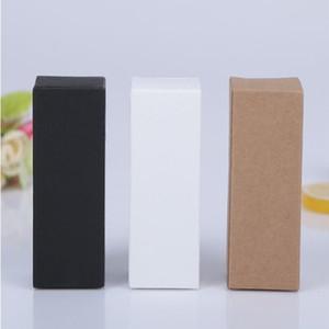 Karton Dikdörtgen Packaging Çevre Şişe Kraft Kağıt Kutu Esansiyel Yağ Packaging Kutu Su Şişesi Wrap WY445Q