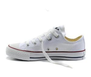 ÜST kalite Fabrika fiyat promosyon fiyatı! 2019 kanvas ayakkabılar kadınlar ve erkekler, yüksek / Düşük Stil Klasik Tuval Ayakkabı Sneakers Tuval Ayakkabı