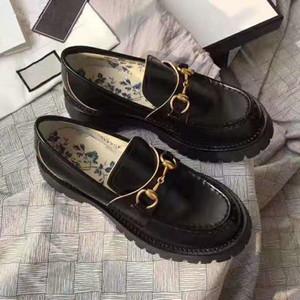 Fanshion horsebot toka ile platform ayakkabılar desiger Yeni Stil kalın Lug kösele katır women2020 ve arı EUR34-40 işlemeli