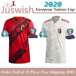 2020 Belgium European Nations Cup Home away LUKAKU HAZARD KOMPANY Soccer Jersey 2021 DE BRUYNE MERTENS men