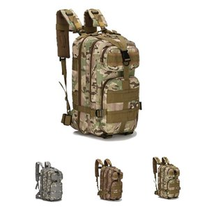 Multi-function backpack Camouflage hiking hiking camping travel shoulder tactical backpack tactical accessories free shipping