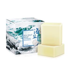 100g Meersalz Seifenreiniger Entfernung Pickel Poren Ziegenmilch Feuchtigkeitsspendende Gesicht Waschen Seife Hautpflege Savon Au Hot