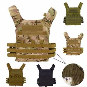 JPC 600D caça Tactical Vest Molle placa de suporte Revista Paintball CS exterior de protecção leve Vest600D Hunting Tactical Vest Moll