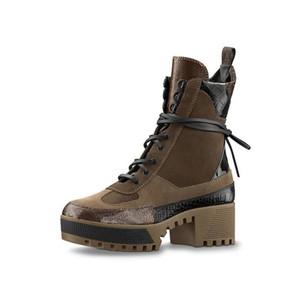 Лауреат платформа Desert Boot дизайнерские сапоги Сапоги до колен кроссовки кожа лауреат платформа 1a43r7 (с коробкой+мешок для пыли) размер 34-41 L30