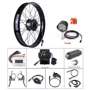 """Fat E-bike Bafang 48V 750W arrière 20"""" 26"""" roue Hub moteur électrique neige vélo Conversion Kits DIY DC Cassette Moteur puissant"""