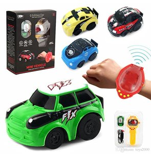 new Educational Toys For Children RC Car Transformation Robots Sports Racing Cars drive Remote Watch Control Cool Action& Figures 1Q