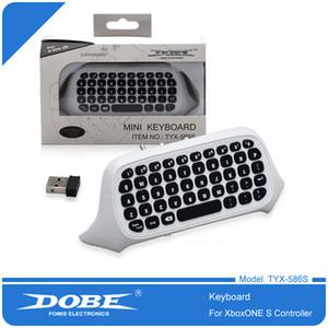 Teclado de alta qualidade DishyKooker DOBE TYX-586S XBOX One / Magro sem fio Game Controller com 3. 5MM Headphone Jack DHL frete grátis