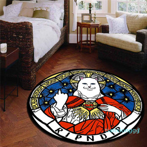 60 * 60 Moda alfombra suave de alta calidad Alfombra moderna Shagg tapetes y alfombras de baño Home Textiles para el Hogar 01