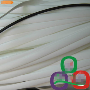 500G اللون الأبيض تقليد الاصطناعية الروطان مسطحة 8MM النسيج واسعة مادة البلاستيك PE الروطان لالمترابط، وإصلاح كرسي طاولة، التخزين ... الخ