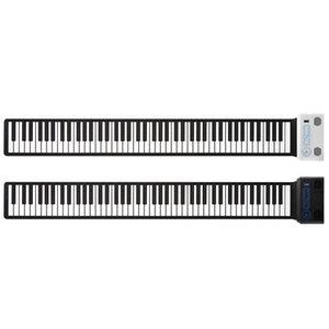 2019 S3088 88 tasti portatile della mano Roll Up Piano Costruito in due altoparlanti Digital Piano CD di apprendimento di alimentazione tastiera pieghevole Pianoforte