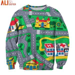 Alisister Cartoon Game Map Sweatshirt 3d Print Funny Pullover 2020 Long Sleeve Brand Clothing Tracksuit Sportwear Dropship